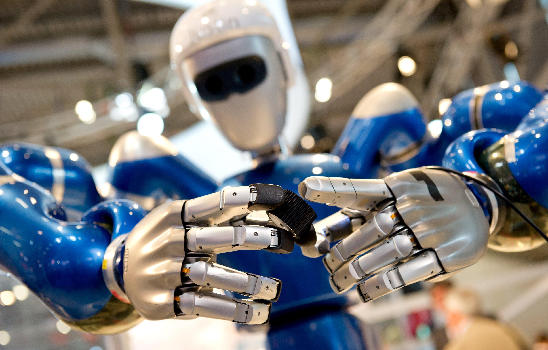 Roboter statt Krankenschwester? Laut Studie könnten Roboter besonders Angestellte im Gesundheitssektor verdrängen.
