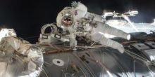ISS-Astronauten mussten Außeneinsatz wegen Wasser im Helm abbrechen
