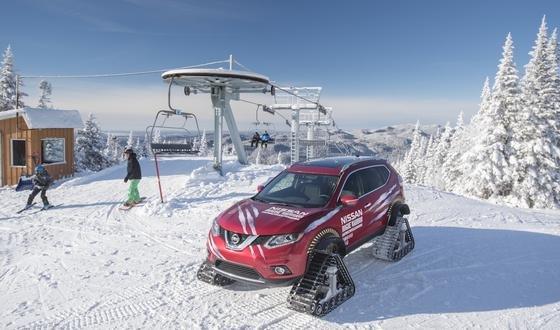Der Rogue Warrior als Alternative zum Skilift? Er wäre jedenfalls deutlich schneller. Die Höchstgeschwindigkeit im Schnee liegt bei 100 km/h.
