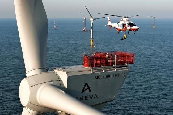 2015 gingen so viele Offshore-Windkraftanlagen in Nord- und Ostsee ans Netz wie nie zuvor. Die Zahl der Windräder am Netz erhöhte sich von 246Ende 2014 auf 792 Anlagen Ende 2015.