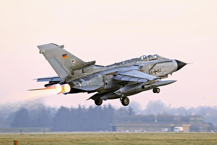 Bundeswehr-Tornados können bei Nacht nichts sehen
