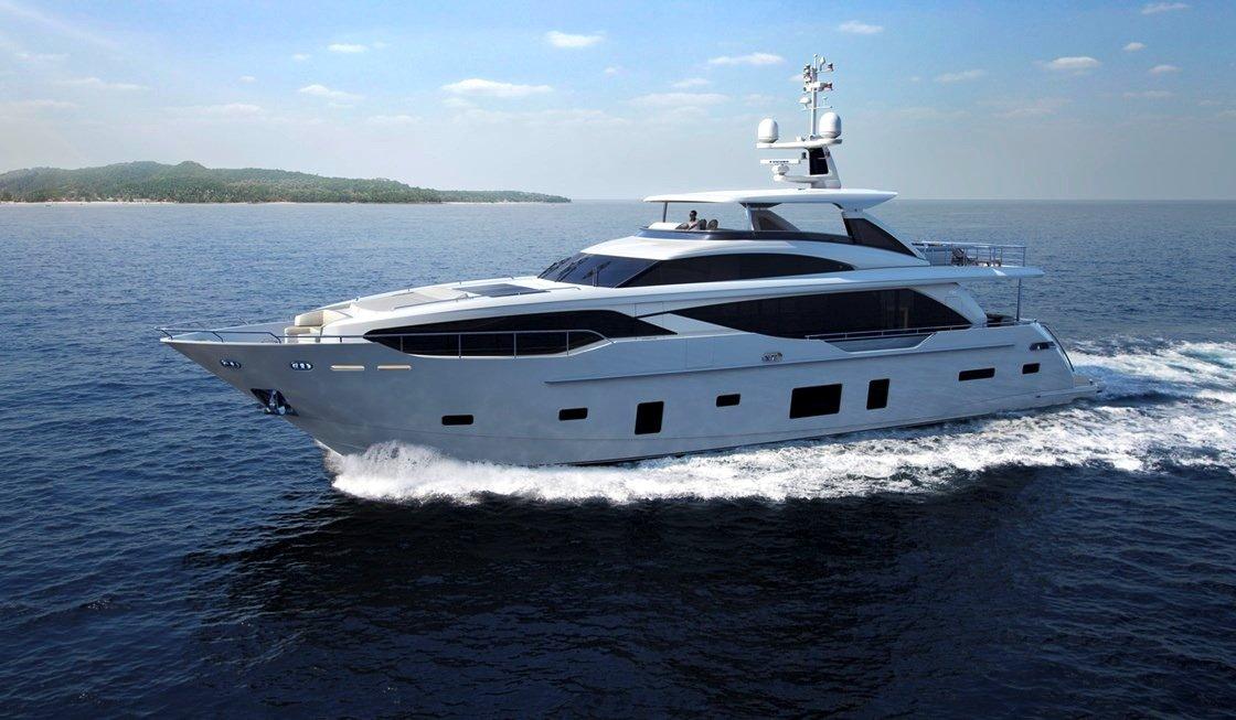 Die Princess 30 M aus den Niederlanden ist mit 30,45 m Länge die größte Yacht der Boot 2016.