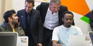 Google finanziert 25.000 Internet-Laptops für Flüchtlinge in Deutschland