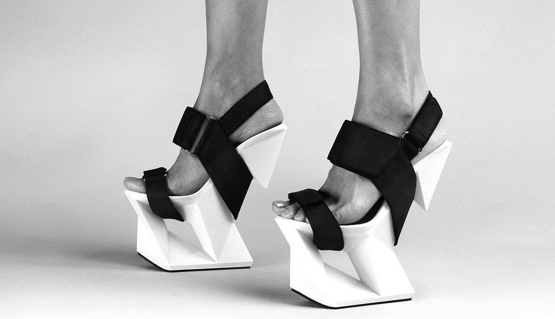 Schuh direkt aus dem 3D-Drucker: Das ist der Ice Shoe von United Nude.