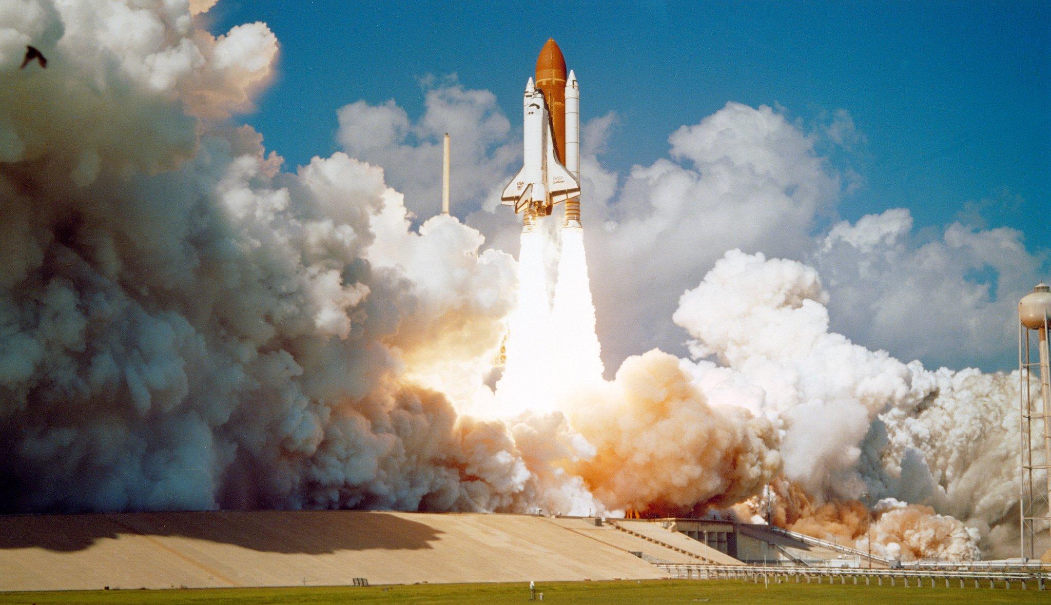 Start der Challengeram 30. Oktober 1985 vom Kennedy Space Center – nur drei Monate vor dem Unglück.