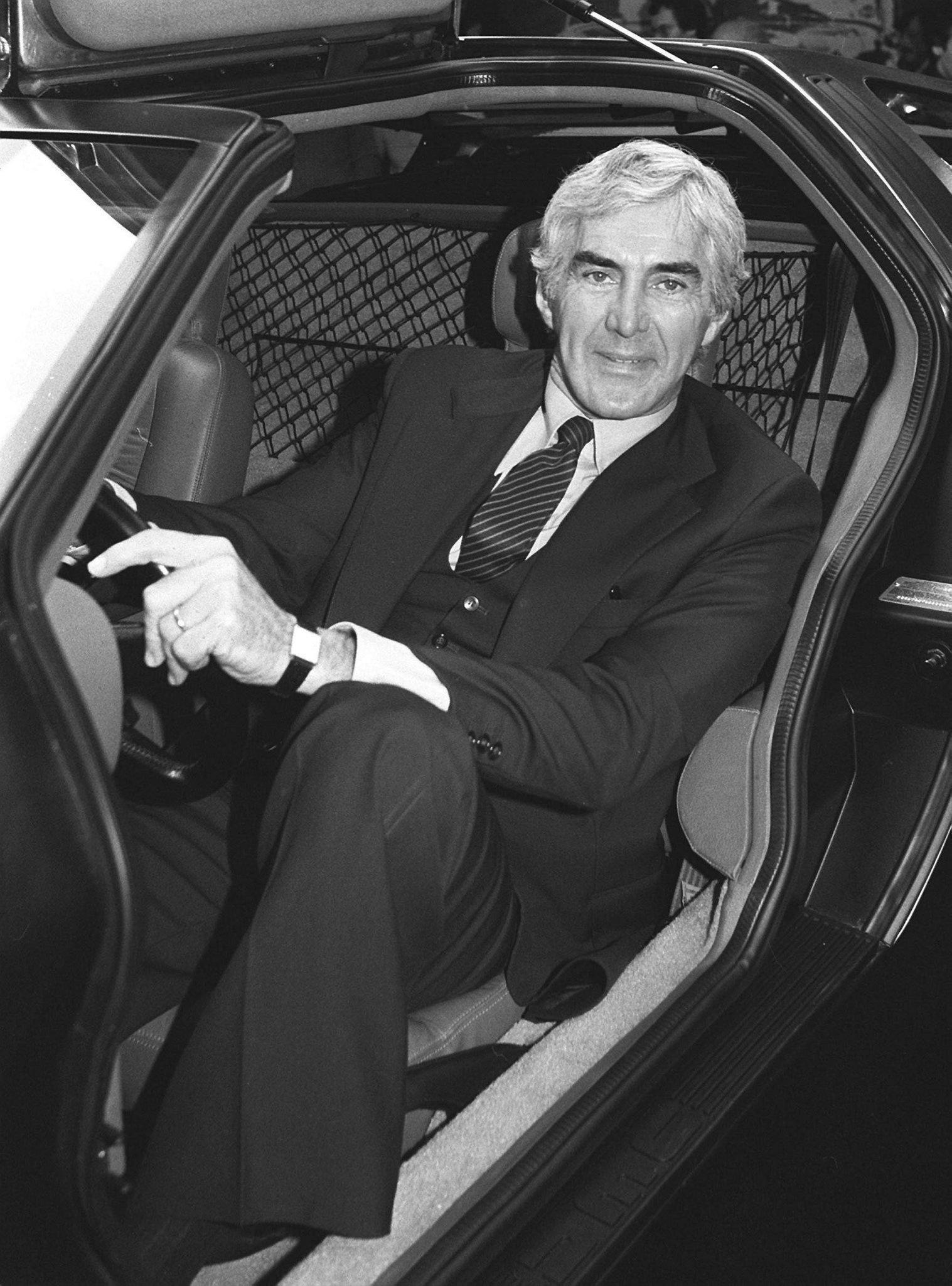 John De Lorean 1981: Der erfindungsreiche Sportwagenbauer starb 2005 im Alter von 80 Jahren.