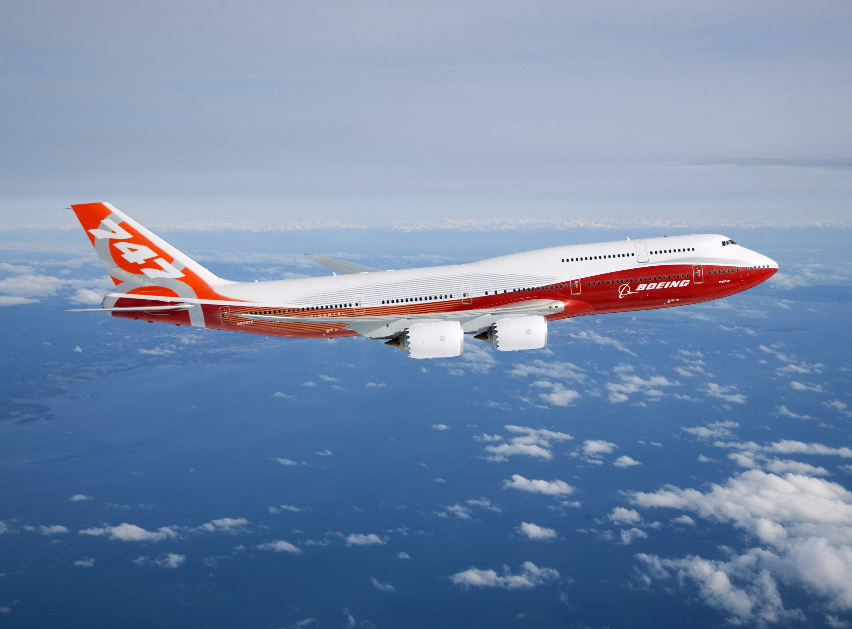 Boeing wird wahrscheinlich einen 747-8 Jumbojet als Basis für die nächste Air Force One nutzen.