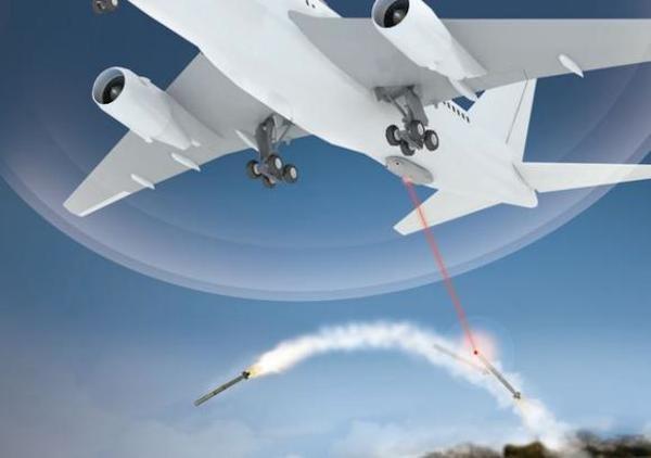C-music erkennt Raketen, lenkt sie mit Laserstrahlen vom anvisierten Ziel ab und macht sie unschädlich.