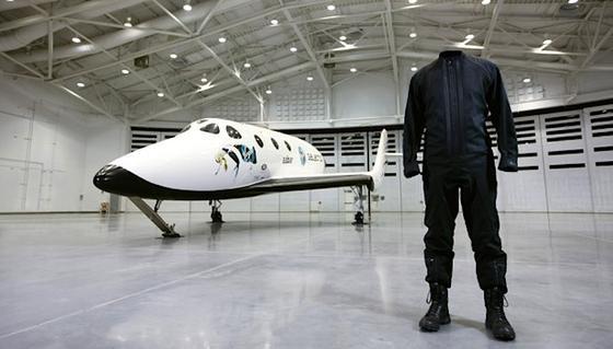 Mit diesem Raumanzug sollen künftig die Astronauten und Weltraumtouristen von Virgin Galactic die Reise ins All antreten.