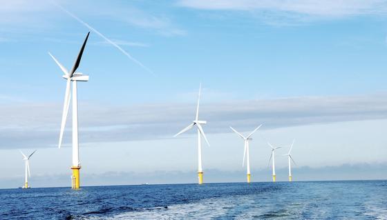 """Windpark von Dong Energy: Siemens wird die Turbinen für den größten Windpark der Welt in der Nordsee liefern. Trotzdem will der Konzern weitere Stellen in seiner Division""""Prozessindustrie und Antriebe"""" abbauen."""