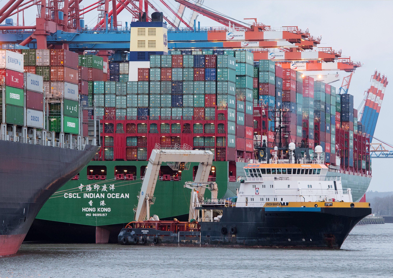 Die Indian Ocean liegt derzeit bei Eurogate am Predöhl-Kai im Waltershofer Hafen. Die Weiterfahrt ist für Freitag geplant.