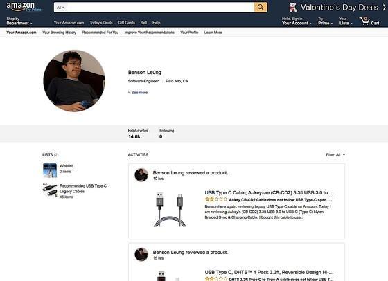 Google-Ingenieur Benson Leung testet USB-C-Kabel und schreibt Rezensionen auf Amazon. Viele Kabel sind falsch gepolt.