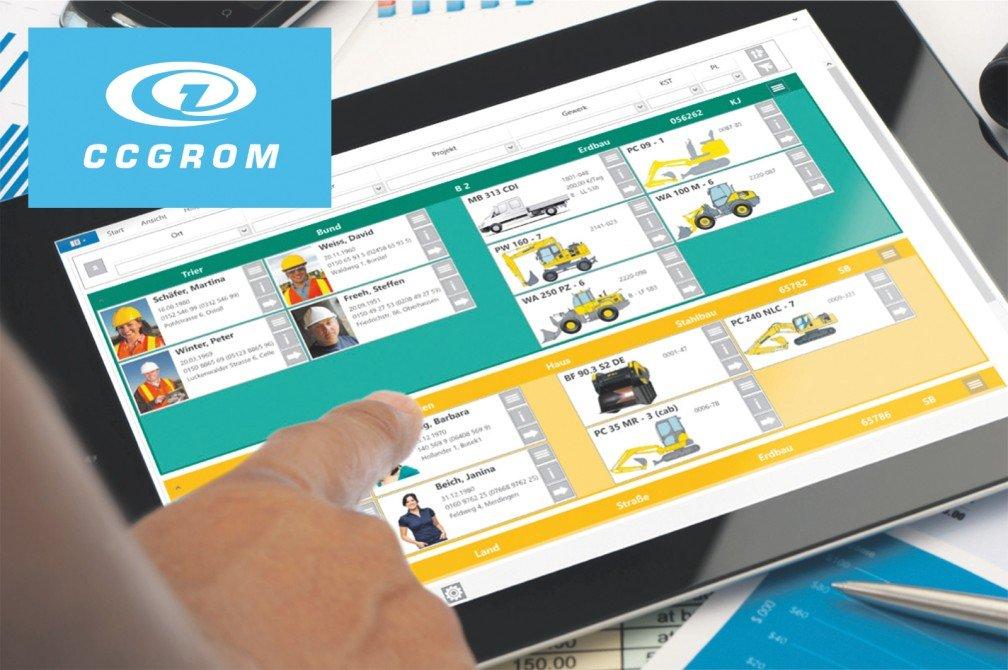 Grom ist der Name für eine Tablet-Software, die die gute alte Magnettafel ablösen will als Instrument für die Personal- und Einsatzplanung von Maschinen.