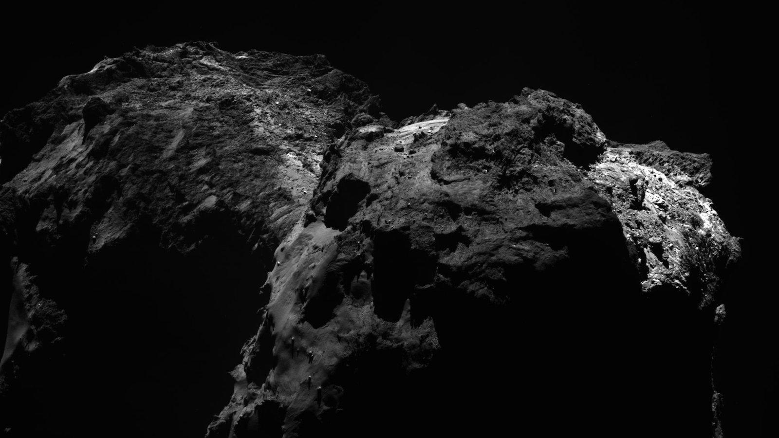 Komet Tschuri – die letzte Ruhestätte von Philae.