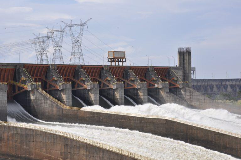 Itaipú: Das größte Wasserkraftwerk in Brasilien ist gleichzeitig das zweitgrößte der Welt. Foto: Itaipu Binacional