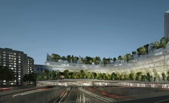 Futuristischer Wohnkomplex bringt den Wald in die Großstadt