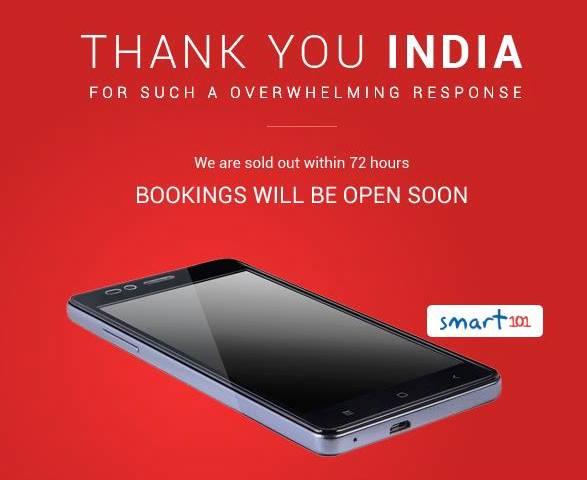 Die indischen Bürger haben das subventionierte Smartphone beherzt geordert. Innerhalb von 72 Stunden war das Start-up Ringing Bells ersteinmalausverkauft.