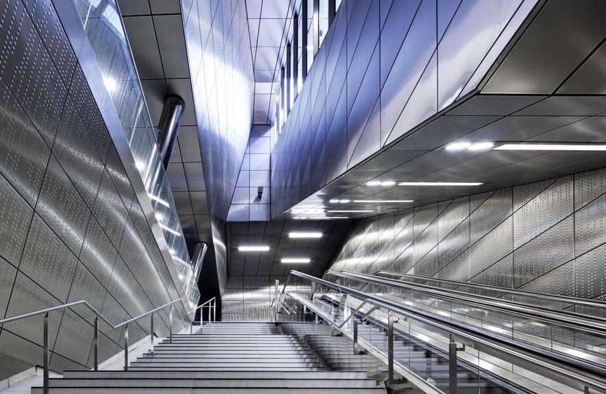 Düsseldorfer U-Bahn wurde durch vereisten Boden gebohrt