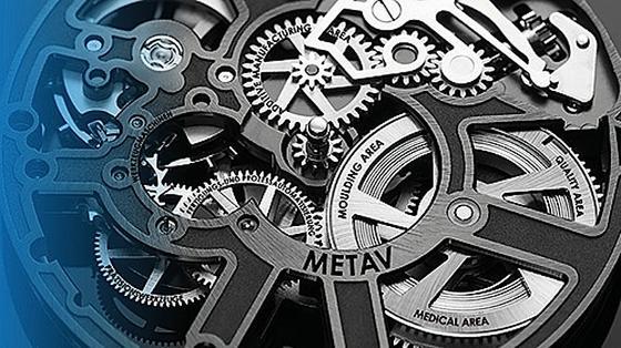 Alles verzahnt: Die Internationale Messe für Technologien der Metallbearbeitung (Metav) kommt mit einem neuen Konzept in die Düsseldorfer Messehallen. Gleich vier neue sogenannte Areas wurden in die Messe integriert: additive Fertigung, Qualitätssicherung, Werkzeug- und Formenbau sowie Medizintechnik.