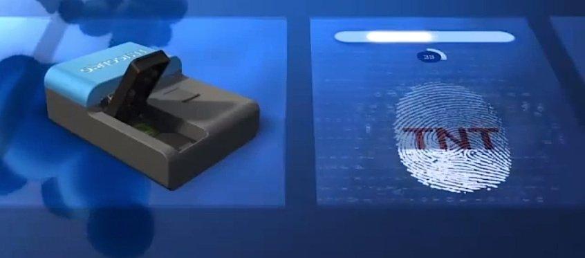 Sprengstoff aufgespürt: Die Nano-Nase istsowohl im Passagier- wie im Frachtverkehr einsetzbar.