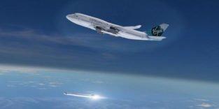 Virgin Galactic will Satelliten in der Luft von einem Jumbo starten