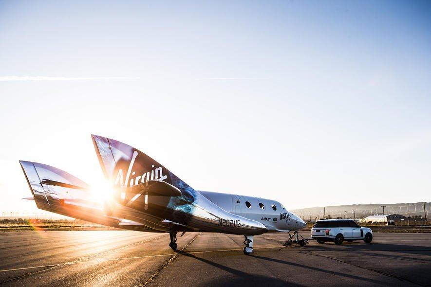 Das ist die neue Raumfähre für Weltraumtouristen von Virgin Galactic