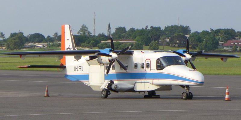 Die zweimotorige Turbopropeller-Maschine DO 228-212 eignet sich durch ihre rechteckige Kabine und die großen Öffnungen im Boden besonders gut zur Installation von speziellen Kamera- und Radarsystemen.