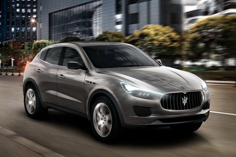 Der erste SUV von Maserati, der Levante, soll BMW X5, Porsche Cayenne und Range Rover Sport Konkurrenz machen.