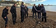 Erste Drohne überquert den Ärmelkanal