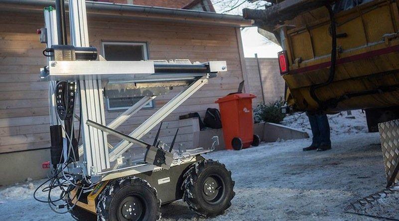 Das ist Müllroboter ROARy. Ein
