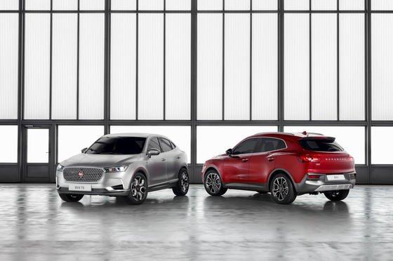 Die beiden SUV Borgward BX5 und BX6 haben Premiere auf dem Genfer Automobil-Salon. Der Hersteller produziert zwar derzeit in seinem Werk in China, will aber auch in Kürze über einen Produktionsstandort in Deutschland entscheiden.