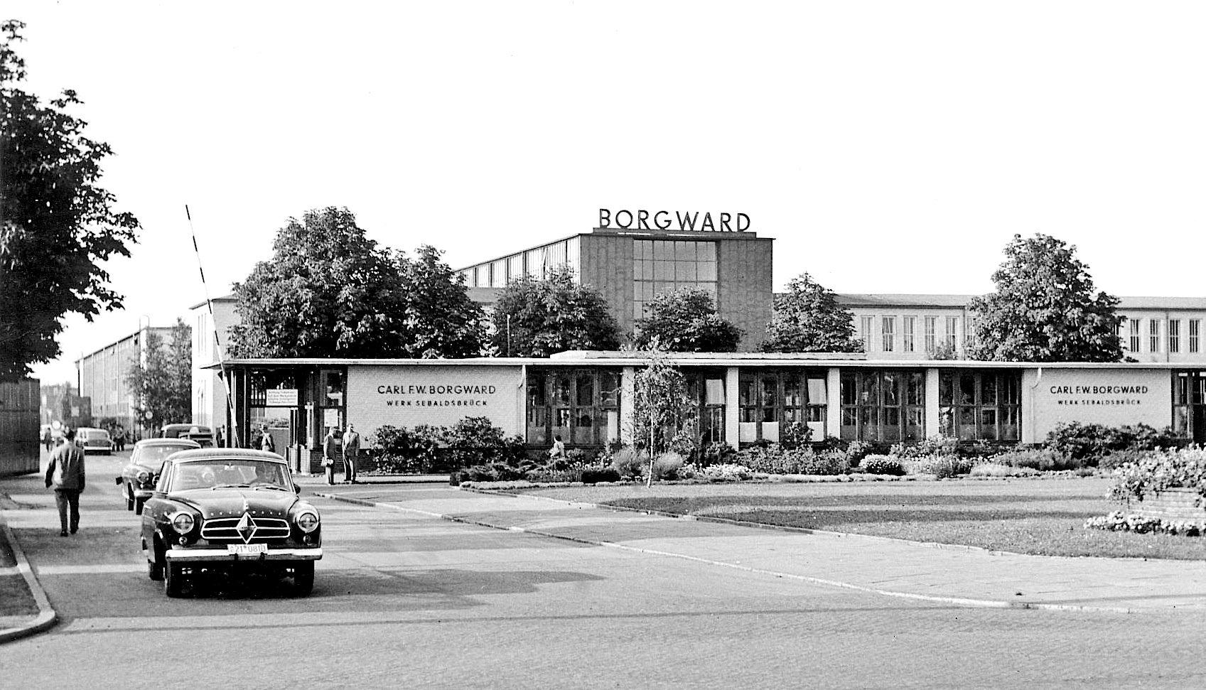 Bis zur Insolvenz 1961 wurden im Borgward-Werk in Bremen-Sebaldsbrück mehr als eine Million Fahrzeuge gebaut.