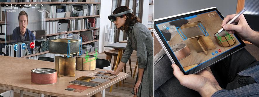 Microsofts HoloLens kann vorbestellt werden