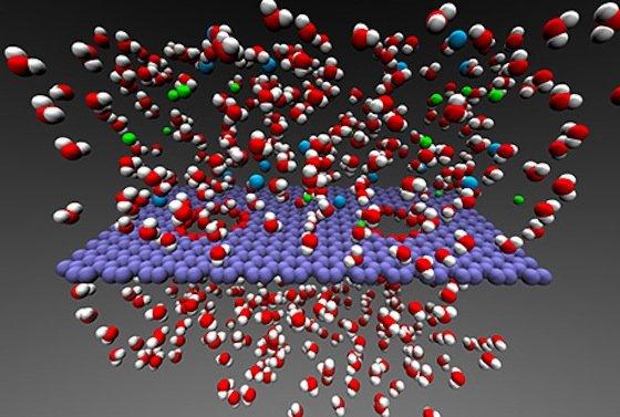 Lookheed Martin hat einen Graphen-Filter entwickelt, der Wasser und Salz trennen kann. Das Verfahren braucht nur noch wenig Energie.
