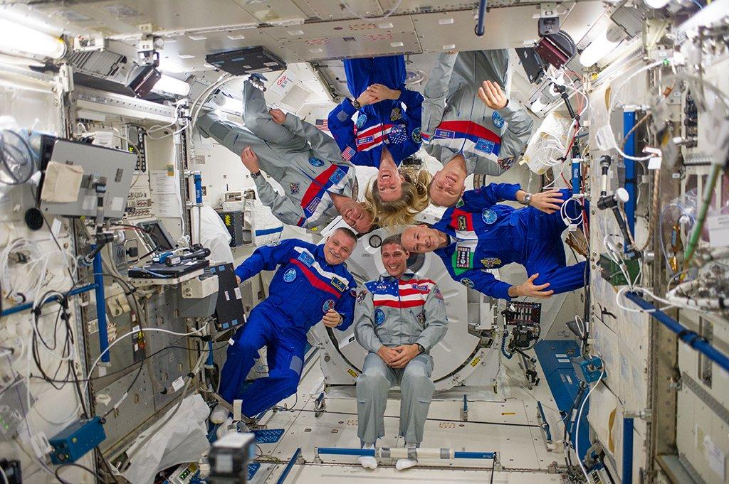 Es ist nicht so, als habe noch nie eine Frau einen Fuß in die ISS gesetzt: Bei der 37. Mission war Karen Lujean Nyberg 2013 als Bordingenieurin dort. Es war der zweite Raumflug der US-Bürgerin und Nasa-Astronautin.
