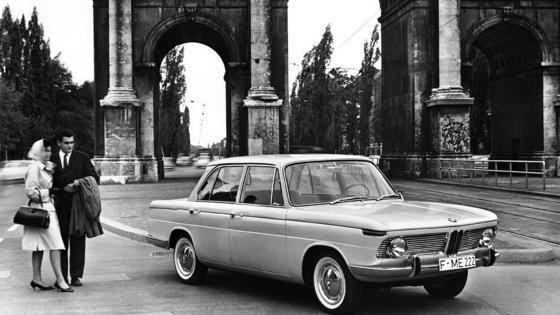Mit dem Mittelklassemodell 1500kam BMW endlich auf die Erfolgsbahn. Das Auto wurde von 1962 bis 1972 hergestellt.