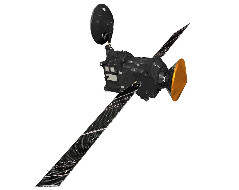Raumsonde ExoMars 2016: Die Energieversorgung übernehmen zwei Solarzellenausleger mit 17,5 m Spannweite.