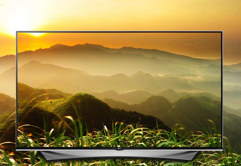 Super-UHD-TV von LG: Das 8K-Modell UH9809 erreicht eine Auflösung von 7680x4320 Pixeln. Es kommt in der zweiten Jahreshälfte 2016 auf den Markt.