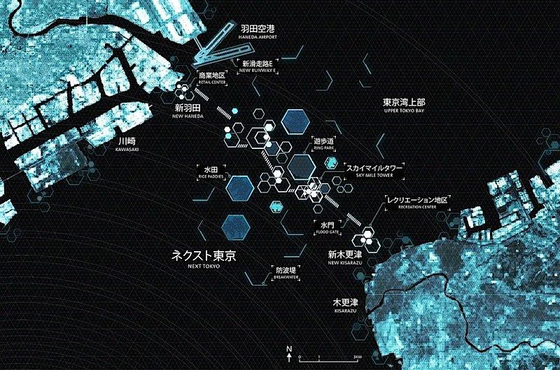 Der Masterplan zum Projekt Next Tokyo 2045.