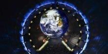 Im Gasometer kann jeder wie ein Astronaut auf die Erde blicken