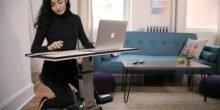 Edge Desk ist der Schreibtisch zum Mitnehmen