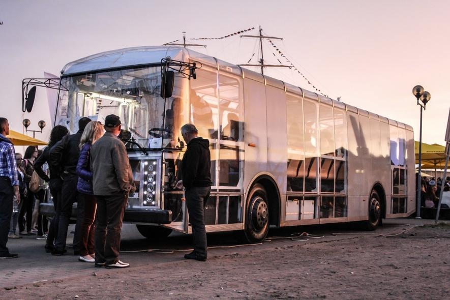 Rollt transparent und umweltfreundlich auf Litauens Straßen