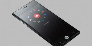 Bequem: Dieses Smartphone lässt sich nur mit dem Daumen bedienen