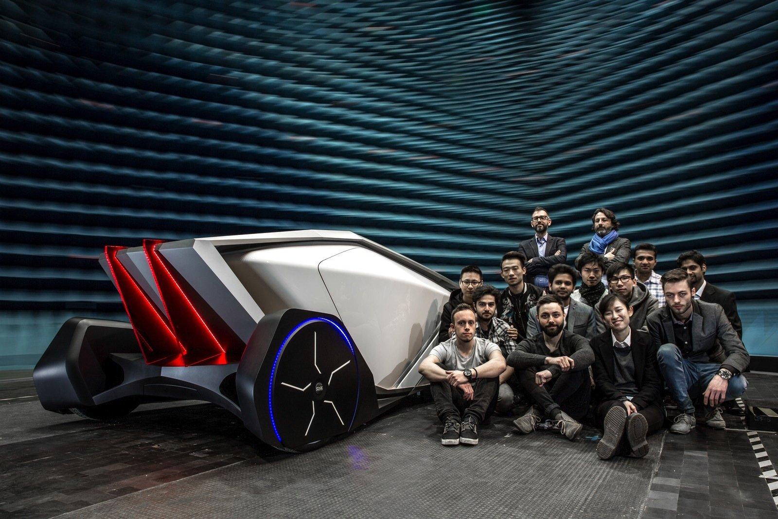 Entwickelt wurde die Studie von einem Team an der Universität Instituto Europeo di Design (IED) in Turin.