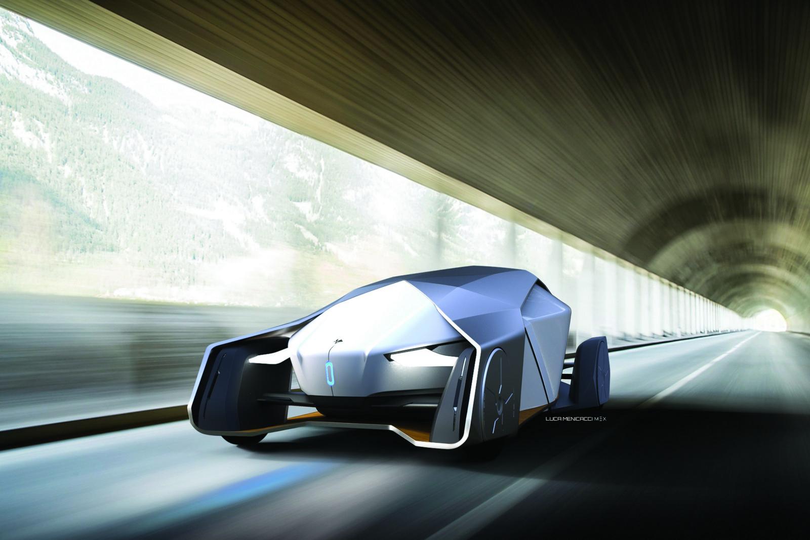 Die Studie Shiwa soll komplett autonom fahren, einen Fahrer gibt es nicht mehr.