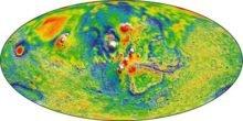 Wie ein Röntgenbild: Bislang detailreichste Gravitationskarte vom Mars