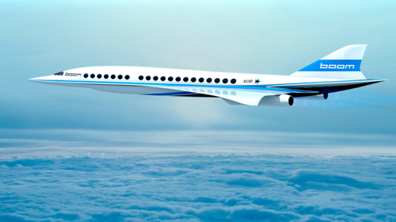 So stellt sich das amerikanische Start-up Boom einen Nachfolger des Überschallflugzeuges Concorde vor.