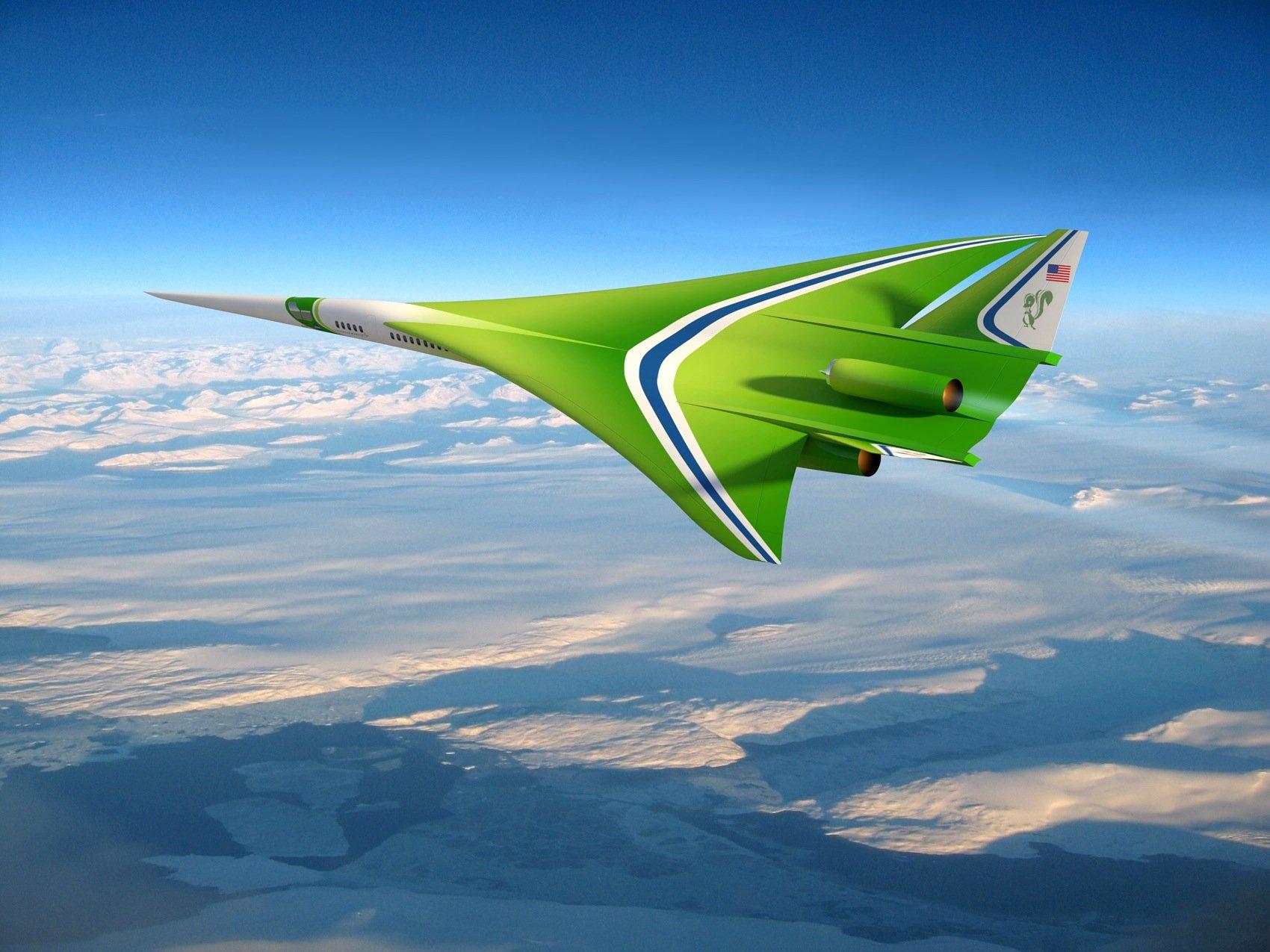 Schon Ende 2007 stellte die Nasa gemeinsam mit Lockheed Martin den Entwurf eines zivilen Überschalljets vor.