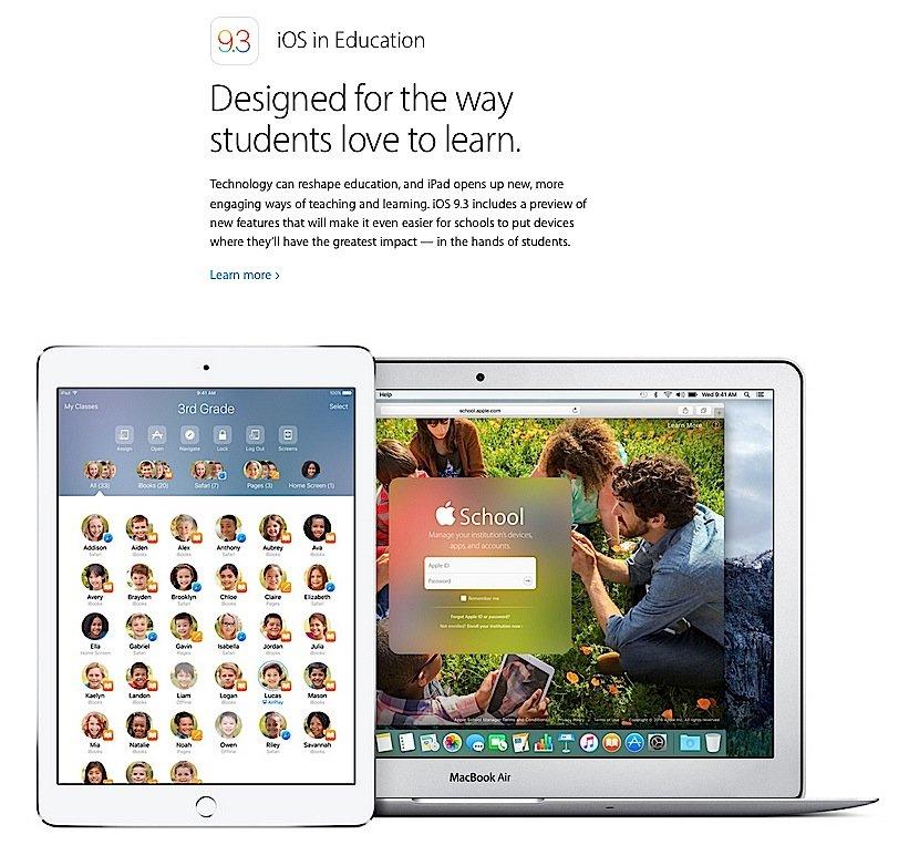 Schüler haben hoffentlich das Update auf iOS 9.3 noch nicht aufgespielt. Manche Apps lassen sich nicht mehr starten, mitunter lässt sich das ganze Geräte nicht mehr korrekt benutzen.