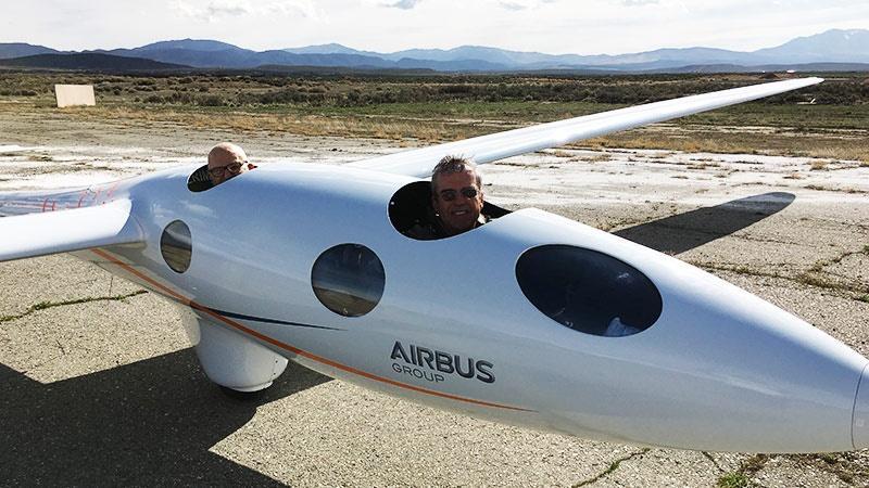 Mit dem Segelflugzeug Perlan II an die Grenze zum Weltraum